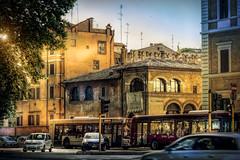 Rome (Luc Mercelis) Tags: rome roma street streetphotography streetart lightroom light color red yellow blue cityscape city sonyslt77v minolltaprimelens20mm minoltaprimelens50mm minoltaprimelens24mm minoltaprimelens
