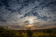 Clouds (Myrialejean) Tags: grantham england unitedkingdom gb clouds sky blue white weather morning outdoors nikond7200 sigma 1010mm wideangle altocumulus