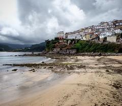 Despus de la tormenta (maca.cdt) Tags: lastres asturias spain espaa playa tormenta storm cielo nubes pueblo beach village lluvia clouds sky rain cloudysky landscape paisaje