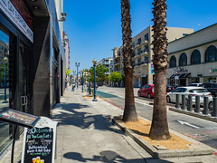Downtown Long Beach (Anthony's Olympus Adventures) Tags: longbeach ca california usa america city cityscape streetscape downtown street road building car sky sunny cityview citycenter olympusem10 omd microfourthirds photo day walk losangeles metro mainstreet orangecounty pineave