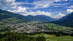 Lienz from above, Austria (Thomas Bartelds Photography) Tags: patriasdorf tirol oostenrijk at drone austria lienz shot above green blue landscape