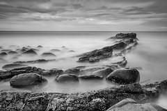 Dunstanburgh B and W (Ellieslion) Tags: ellieslion daytimelongexposure longexposure filters leebigstopper sea