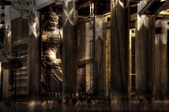 Nio (Kongrikishi) (Ka-merameha) Tags: statue buddhism people temple night nara japan