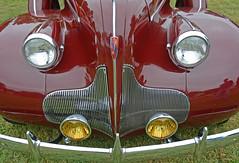 1939 Buick Roadmaster Hood Detail (Brad Harding Photography) Tags: 1939 39 buick roadmaster buickeight antique chrome restored restoration automobile vehicle headlights foglights sedan fourdoor waterfallgrille