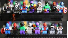 MU3A8805 (lbaswjk3ja) Tags: bootleg knockoff fake brick building toy comic book hero falcon spiderman green goblin crossbones hulk ultron captain america red skull