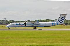 G-ECOD DHC-8Q 402 Flybe MAN 17-07-16 (PlanecrazyUK) Tags: egcc manchester man ringway manchesterairport gecod dhc8q402 flybe 170716