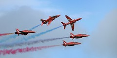 Red Arrows (BitRogue) Tags: nikon d800 sigma 150600mm sport capturenx2 bournemouth air show festival 2016 raf royalairforce red arrows aerobatics plane aerobatic aeroplane flight flying