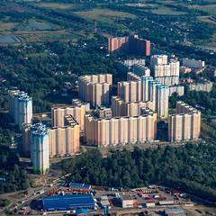 Beim Flughafen Sheremetyevo (swissgoldeneagle) Tags: rx100  moskau skyscraper  russia rx100m4  skyscrapers sheremetyevointernationalairport 1x1 hochhaus hochhaeuser hochhuser russland moscow  moskva ru