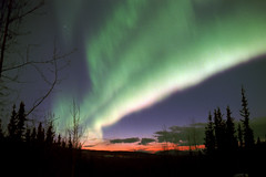 In Strong Twilight (film) (northern_nights) Tags: 100v10f sunset aurora auroraboreralis northernlights fairbanks alaska dusk film 52sunsets3 wow