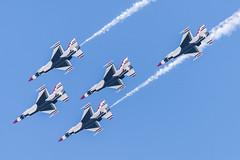 DSC_0968 (CEGPhotography) Tags: cegphotography atlanticcity newjersey nj ac atlanticcityairshow 2016 thunderovertheboardwalk aviation flight sky nikon usaf thunderbirds usafthunderbirds f16 f16fightingfalcon falcon viper jet