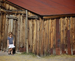 old places seen through new eyes (Karol Franks) Tags: old house bodie ghost town historicpark wooden vintagewood girl