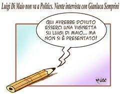 Satyrics (Moise-Creativo Galattico) Tags: editoriali moise moiseditoriali editorialiafumetti giornalismo attualit satira vignette dimaio politics semprini m5s