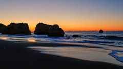 Rocky shore (Kari Siren) Tags: sea coast rock light beach ocean algarve portugal
