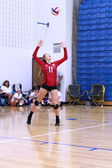 IMG_3039 (SJH Foto) Tags: girls volleyball high school mount olive mt team tween teen teenager varsity serve burst mode