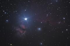 Horsehead and Flame Nabulae (matwiej85) Tags: alnitak horsehead flame nebula ic434 ngc2024 orion skywatcher 150750 synscan unguided eq5 nikon d7000