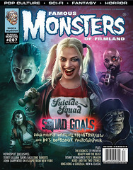 Famous Monsters of Filmland #287 (2016), cover by Brian Taylor (Tom Simpson) Tags: suicidesquad briantaylor comics illustration 2016 2010s harleyquinn margotrobbie thejoker jaredleto willsmith deadshot art
