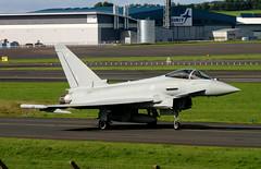 ZK352/BV Typhoon (Ayrshire Aviation Images) Tags: typhoon fastjet fighterjet royalairforce prestwickairport militaryjet