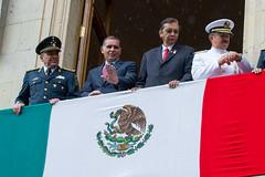 Desfile Cívico Militar, con motivo del 206 Aniversario del Inicio por la Independencia de México