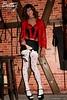 Pre-bondage photo (2007) (transbetty) Tags: transvestite transbetty bondage bdsm heels stockings fetish dungeon lingerie crossdress crossdresser crossdressing corset transgender