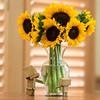 Sunflowers! (Arielle.Nadel) Tags: danboard danbo revoltech minidanbo sunflowers toyphotography