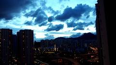 Kowloon Bay (Eric Lwk) Tags: cities kowloon hongkong kowloonbay lionrock sunset life