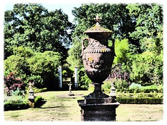 Vintage image (oh.suzannah) Tags: traditional garden urn decorative