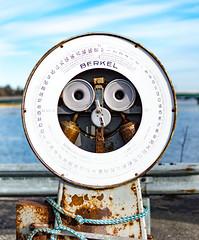 Hello, I'm Berkel (Jori Samonen) Tags: berkel weight scale metal rope railing water sea island tree sky cloud sompasaari helsinki finland nikon d3200 350 mm f18 nikond3200 350mmf18