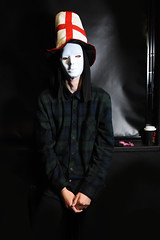 Alternate Ego (kierlewis) Tags: photography pca england anonymous guyfawkes photoshop lightroom lighting differences