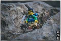 Far from the madding crowd (Priovit70) Tags: lego minifig sigfig rocks mountains hiking september holiday olympuspenepl7