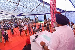 Our mission is to equip each of the 12000 villages in the state with solar lights in next 5 years(6) (sukhbirsingh_badal) Tags: progressingpunjab akalidal punjab sukhbirsinghbadal