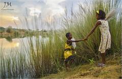 || The Melody Of Autumn || (joydeepmukherjee322) Tags: nikond7000 tamron1750mmf28 autumn children sunset
