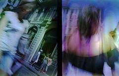 Street extreme, Vol.1 (ale2000) Tags: olympus pen ees2 ees halfframe kodak supra kodaksupra analog analogue film candid street streetphotography women tourists inthecity soup bleach bleached filmsoup filmisnotdead believeinfilm 35mm manipulated blurry blurred motion sfocato mosso