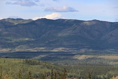 Dawson Range (demeeschter) Tags: canada yukon territory klondike highway lake mountain scenery landscape nature wildlife fire forest river