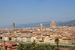 Views of Florence from Piazzale Michelangelo (roisin.grace) Tags: piazzale michelangelo piazzalemichelangelo florence italy firenze