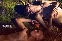 The Destruction of Paradise (BahePhotography) Tags: adam lucifer god bible genesis garden eden religious religion gay twink shirtless snake apple