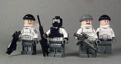 EU Soldiers (Kyle Peckham) Tags: lego military eu purge thepurge