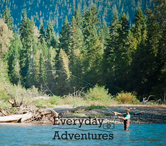 Men  Out Fishing-16 (Every Day Adventures) Tags: trees canada mountains forest river outdoors fishing britishcolumbia flies rod flyfishing oneman skagitriver troutfishing