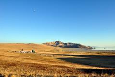 Hot air ballooning at White Rock Bay (Great Salt Lake Images) Tags: utah antelopeisland greatsaltlake hotairballoons antelopeislandstampedefestival