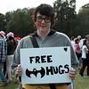 Cwtsh am ddim / Free hugs  - Mardi Gras Caerdydd / Cardiff, 2012