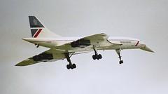Concorde (Nigel Musgrove-2.5 million views-thank you!) Tags: 30 day air 1988 july somerset concorde british airways yeovilton rnas gboab