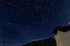 Polar Star (Di Gutti (diegogutierrez79@gmail.com)) Tags: longexposure light sky luz night canon star noche sevilla spain estrela seville andalucia cielo estrellas nocturna noite andalusia estrella notte nightvision gettyimages startrail largaexposicion polarstar estrellapolar sevillan canon450d canoneos450d sevillban
