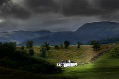 in the middle of nowhere (manolo guijarro) Tags: storm clouds landscape scotland highlands paisaje escocia nubes tormenta scape nikond700 manologuijarro