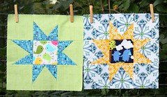 Wonky Stars for the do. Good Stiches-HAPPINESS-Circle (by niveas) Tags: