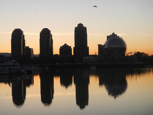 East False Creek at Dawn