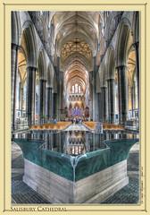 Salisbury Cathedral (setsuyostar) Tags: churches salisburycathedral photomatix kenhawley canoneos5dmarkii hdrtriplet august2012 summer2012 bournemouth2012