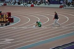 Yohansson Nascimento after completing the men's 100m T46 (Belhaven2011) Tags: uk greatbritain england men london field brasil bronze silver gold athletics nikon track bladerunner stadium wheelchair elite runners blade olympic athletes olympics athlete runner sprint goldmedal blades brasilian nascimento paralympics 100m trackandfield london2012 sprinter javelin 100metres 55300 d5000 t46 eliteathlete 1685mm 55300mm yohansson runnerjpg athleticsjpg londonjpg yohanssonnascimento