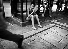 (Adrian in Bangkok) Tags: life street people urban sexy girl thailand asia raw pavement bangkok poor streetphotography photojournalism documentary social prostitute gritty desperate reality streetphoto whore hooker whores prostitutes cheap redlightdistrict nasty sleaze hookers reportage depraved photoessay doco sexworkers sleazey