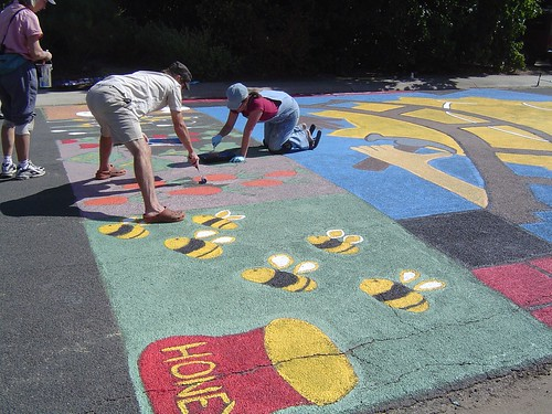 Photo - Paint the Pavement Program