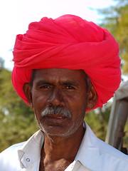 Rajasthan - Man (sharko333) Tags: voyage street travel portrait people india man asia asien olympus e asie indien rajasthan reise 620 earthasia