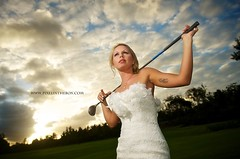 The bride who loved playing golf (Pixelinthebox) Tags: wedding portrait golf bride nikon photographer mariage mauritius photographe marie ilemaurice d700 pixelinthebox julienvenner weddingphotographermauritius photographemariageilemaurice thebridewho